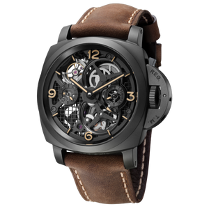 Buy, Sell, Trade In Panerai Luminor 1950 Tourbillon GMT Ceramica Lo Scienziato PAM 528 timepiece at Time Galaxy Watch Malaysia