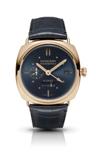 Load image into Gallery viewer, Authentic Panerai Radiomir 8 Days GMT Oro Rosso Blue PAM 538 Watch