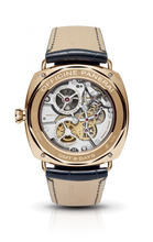 Load image into Gallery viewer, Panerai PAM538 made of pink gold and sapphire glass, partially skeletonized finish