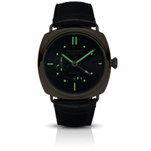 Load image into Gallery viewer, Panerai PAM538 blue dial, stick dot indexes and stick hands
