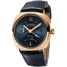 Load image into Gallery viewer, Buy Sell Trade-in Panerai Radiomir 8 Days GMT Oro Rosso Blue PAM538 at Time Galaxy Watch