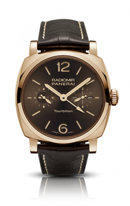 Authentic Panerai Radiomir 1940 Tourbillon GMT Oro Rosso PAM 558 Limited Edition Watch