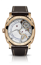 Load image into Gallery viewer, Panerai PAM558 made of Red Gold, sapphire glass, brown dial, tourbillon escapement