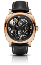 Load image into Gallery viewer, Authentic Panerai Radiomir 1940 Tourbillon GMT Oro Rosso Lo Scienziato PAM559 limited edition watch