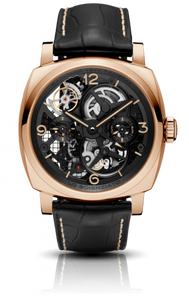 Authentic Panerai Radiomir 1940 Tourbillon GMT Oro Rosso Lo Scienziato PAM559 limited edition watch