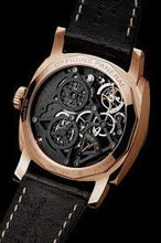 Load image into Gallery viewer, Panerai PAM559 made of red gold, sapphire glass, skeleton dial, tourbillon escapement