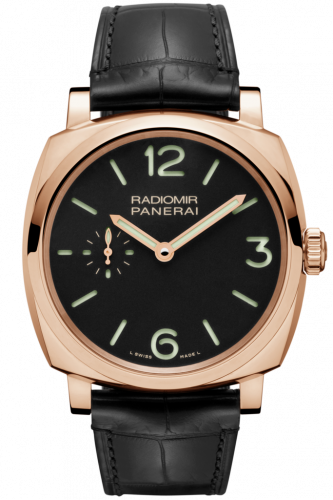 Authentic Panerai Radiomir 1940 42 3 Days Oro Rosso PAM 575 Watch