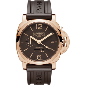 Buy Sell Panerai Luminor 1950 8 Days GMT Oro Rosso PAM 576 at Time Galaxy Watch Online Store
