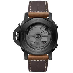 Panerai PAM580 made of Titanium, Ceramic and sapphire glass material, 50 m water resistance