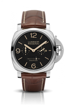 Load image into Gallery viewer, Authentic Panerai Luminor 1950 Equation of Time 8 Days Acciaio PAM 601 Limited Edition Watch