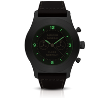 Load image into Gallery viewer, Panerai PAM603 brown dial, mixed indexes, stick hands, night indicator