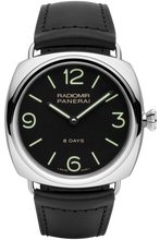 Load image into Gallery viewer, Authentic Panerai Radiomir Black Seal 8 Days Accaio PAM 610 Watch