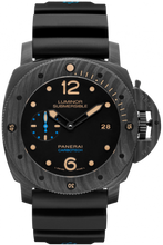 Load image into Gallery viewer, Authentic Panerai Submersible Carbotech 3 Days Automatic PAM 616 Watch