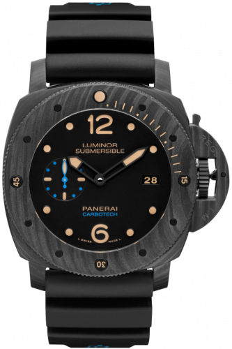 Authentic Panerai Submersible Carbotech 3 Days Automatic PAM 616 Watch