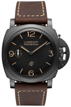 Load image into Gallery viewer, Authentic Panerai Luminor 1950 3 Days Titanio DLC PAM 617 Limited Edition Watch