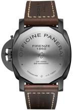Load image into Gallery viewer, Panerai PAM617 made of Titanium, sapphire glass, DLC coating, 100 m water resistance