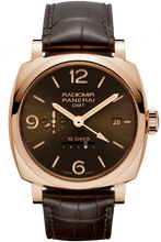 Load image into Gallery viewer, Authentic Panerai Radiomir 1940 10 Days GMT Oro Rosso PAM 624 Limited Edition Watch
