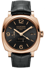 Load image into Gallery viewer, Authentic Panerai Radiomir 1940 10 Days GMT Oro Rosso PAM 625 Limited Edition Watch