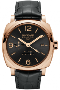 Authentic Panerai Radiomir 1940 10 Days GMT Oro Rosso PAM 625 Limited Edition Watch