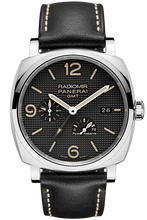 Load image into Gallery viewer, Authentic Panerai Radiomir 1940 3 Days GMT Power Reserve Automatic Acciaio Hobnail PAM 628 Watch
