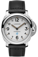 Load image into Gallery viewer, Authentic Panerai Luminor Marina Blue Logo PAM 631 Watch