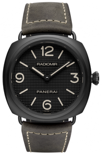 Authentic Panerai Radiomir Base Ceramica Hobnail PAM 643 Watch