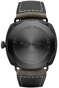 Panerai PAM643 made of ceramic, stainless steel, sapphire glass, PVD coating