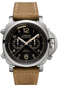 Authentic Panerai Luminor 1950 Regatta PCYC 3 Days Chrono Flyback Automatic Titanio PAM 652 Watch