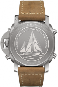 Panerai PAM652 made of titanium, sapphire glass, 100 m water resistance