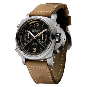 Buy Sell Panerai Luminor 1950 Regatta PCYC 3 Days Chrono Flyback Automatic Titanio PAM 652 at Time Galaxy Watch