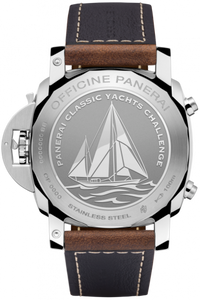Panerai PAM654 made of stainless steel, sapphire glass, 100 m water resistance