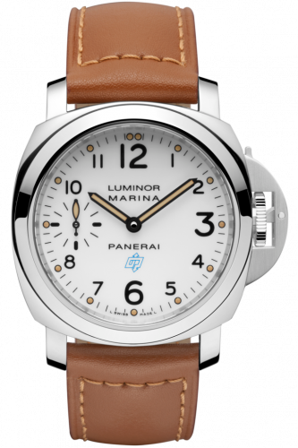 Authentic Panerai Luminor Marina Logo Bianco PAM 660 Watch