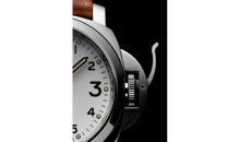 Load image into Gallery viewer, Panerai PAM660 white dial, mixed indexes, stick hands