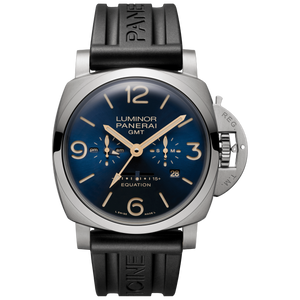Panerai PAM670 wristwatch with leather strap or rubber strap
