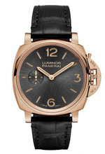 Load image into Gallery viewer, Buy Sell Panerai Luminor Due 42 3 Days Oro Rosso Anthracite PAM 677 at Time Galaxy Watch