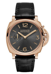 Buy Sell Panerai Luminor Due 42 3 Days Oro Rosso Anthracite PAM 677 at Time Galaxy Watch