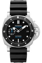 Load image into Gallery viewer, Authentic Panerai Submersible 3 Days Automatic Acciaio 42 Black Ceramic PAM 683 Watch