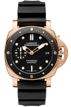 Load image into Gallery viewer, Authentic Panerai Submersible 1950 3 Days Automatic Oro Rosso 42 PAM 684 Watch