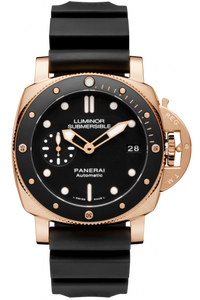 Authentic Panerai Submersible 1950 3 Days Automatic Oro Rosso 42 PAM 684 Watch