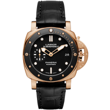 Load image into Gallery viewer, Panerai PAM684 black dial, mixed indexes, water resistant up to 300 m