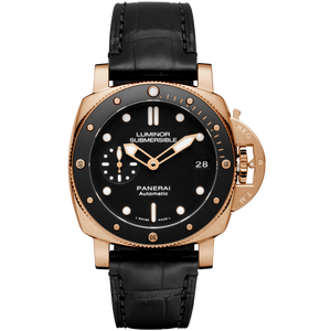 Panerai PAM684 black dial, mixed indexes, water resistant up to 300 m