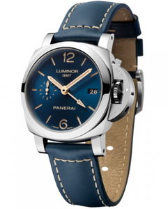 Buy Sell Panerai Luminor 1950 3 Days GMT Automatic Acciaio Boutique Blue PAM 680 Limited Edition Watch at Time Galaxy Malaysia