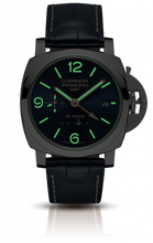Load image into Gallery viewer, Panerai pam 689 blue dial, mixed indexes, night indicator