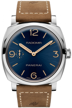 Load image into Gallery viewer, Authentic Panerai Radiomir 1940 3 Days Acciaio Boutique Blue PAM 690 Limited Edition Watch