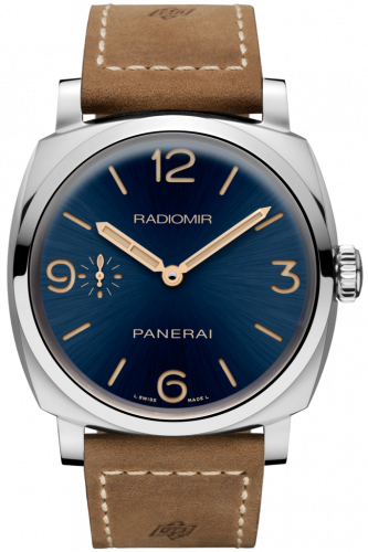 Authentic Panerai Radiomir 1940 3 Days Acciaio Boutique Blue PAM 690 Limited Edition Watch