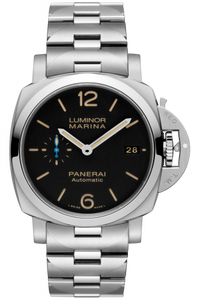Authentic Panerai Luminor 1950 Marina 3 Days Automatic Acciaio 42mm Bracelet PAM 722 Watch