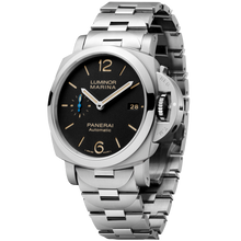 Load image into Gallery viewer, Buy Sell Panerai Luminor 1950 Marina 3 Days Automatic Acciaio 42mm Bracelet at Time Galaxy Watch