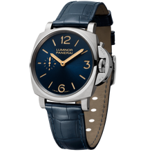 Load image into Gallery viewer, Buy Sell Panerai Luminor Due 42 3 Days Titanio Blue PAM 728 at Time Galaxy Watch