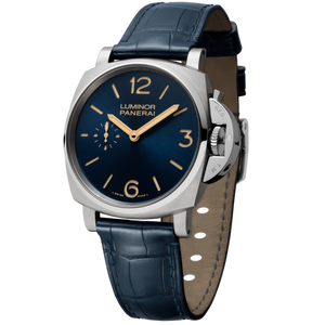 Buy Sell Panerai Luminor Due 42 3 Days Titanio Blue PAM 728 at Time Galaxy Watch