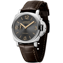 Load image into Gallery viewer, Buy Sell Panerai Luminor Due 45 3 Days Automatic Acciaio Anthracite PAM 739 at Time Galaxy Watch